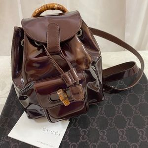 🆕 Gucci Bamboo MINI Backpack 🎒